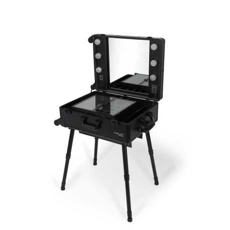 Transportierbare Makeup Station (KC-210 BLACK)