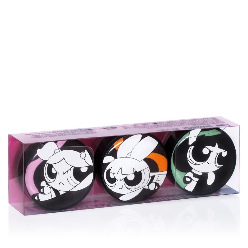 INGLOT x Powerpuff Girls Pure Pigment Lidschatten Set