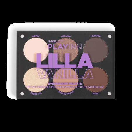 INGLOT PLAYINN Lidschattenpaletten Lilla Vanilla icon