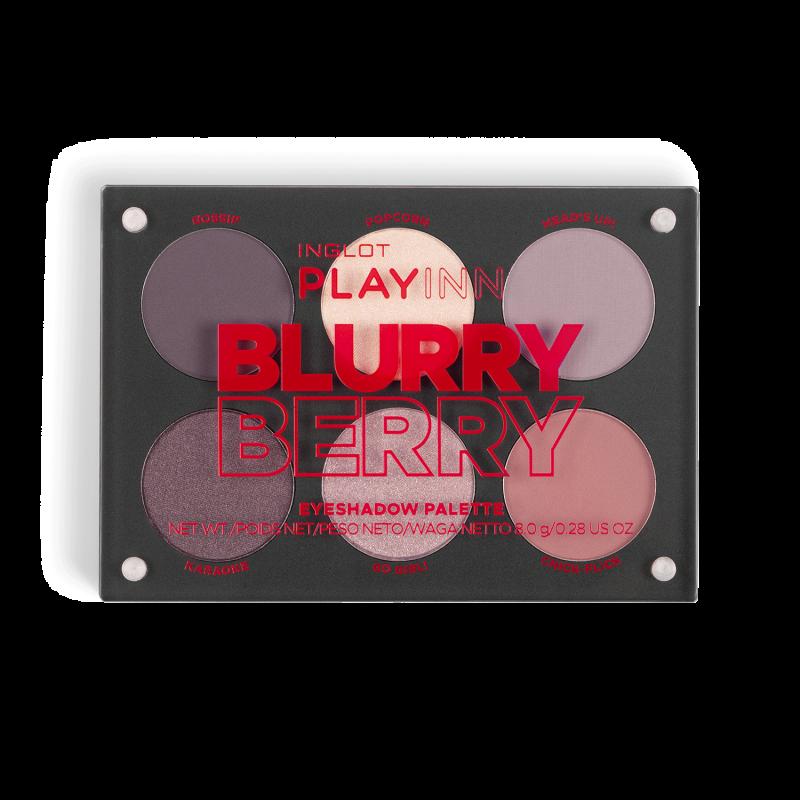 INGLOT PLAYINN Lidschattenpaletten Blurry Berry